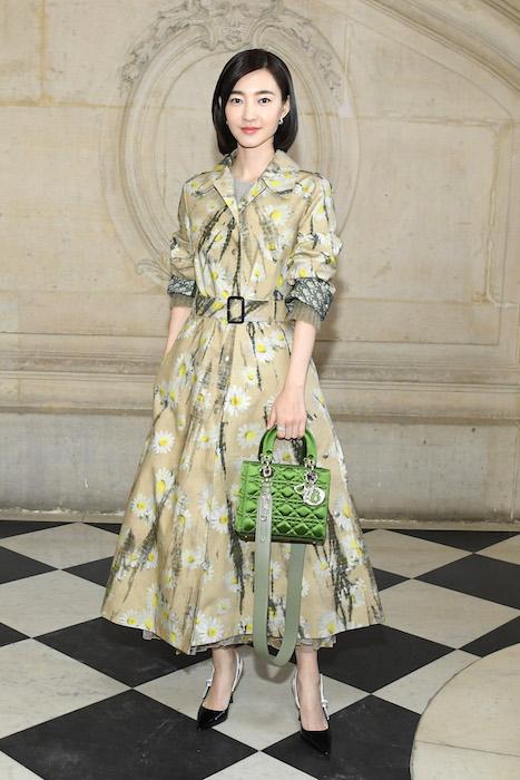wang likun Christian Dior PHOTOCALL COUTURE SS19 PARIS fashion daily mag