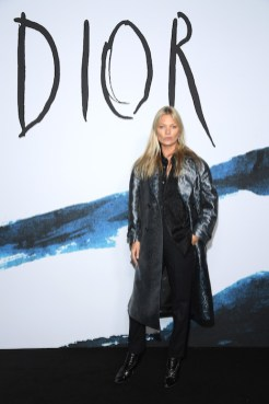 PARIS, FRANCE - JANUARY 18: Kate Moss attends the Dior Homme Menswear Fall/Winter 2019-2020 show as part of Paris Fashion Week on January 18, 2019 in Paris, France. (Photo by Pascal Le Segretain/Getty Images) *** Local Caption *** Kate Moss