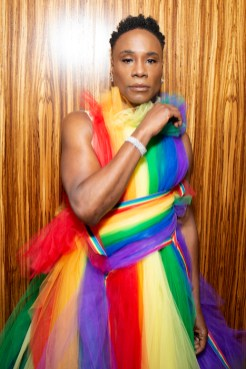 Billy Porter gets ready for WorldPride NYC 2019 on June 30, 2019 in New York City. (Photo by Santiago Felipe/Getty Images) fashiondailymag 3