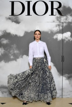 DIOR COUTURE fall 2019 people FashionDailyMag brigitte segura curator 22