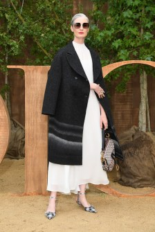 PARIS, FRANCE - SEPTEMBER 24: Erin O'Connor attends the Christian Dior Womenswear Spring/Summer 2020 show as part of Paris Fashion Week on September 24, 2019 in Paris, France. (Photo by Pascal Le Segretain/Getty Images)