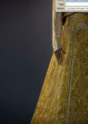 Lot 15 Guo Pei, Gold Chinese Traditional Bridal Dress, Pure gold embroidery thread, leather, European imported fabric (est. £500,000-700,000) (7) on FashionDailyMag Brigitteseguracurator at 10.00.15 AM
