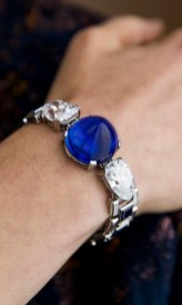 Sapphire and diamond bracelet, Cartier, 1927 - Model -Magnificent Jewels and Noble Jewels Sotheby's Geneva 13 November 2019