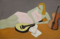10151 Lot 31, Milton Avery, Young MusicianSOTHEBYS NOV 2019 ph sothebys FashionDailyMag fashion brigitteseguracurator