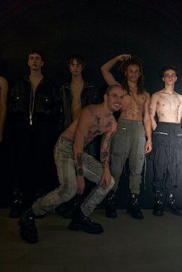 backstage faces tatras x riothill PARIS MENS FASHION WEEK photo isabelle grosse fashoindailymag brigitteseguracurator #tatrasxriothill 277