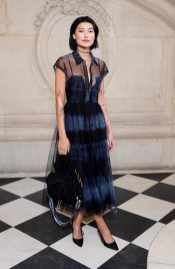 DIOR HAUTE COUTURE SS20 CELEBRITIES PARIS COUTURE FASHION WEEK FASHIONDAILYMAG BRIGITTESEGURACURATOR7