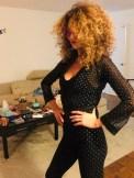 BRIGITTBRIGITTE SEGURA fashiondailymag gucci sunglasses 3wishes sparkle jumpsuit