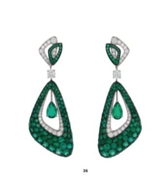 DIAMOND HEART MAGNIFICENT JEWELS SUMMER 2021 christies brigitteseguracurator Fashion Daily Mag luxury lifestyle 2 GREEN