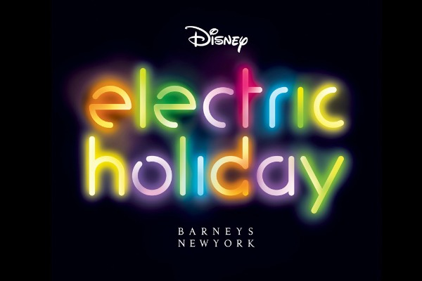 "Barneys New York taps Walt Disney for 3D ""Electric Holiday"" campaign"