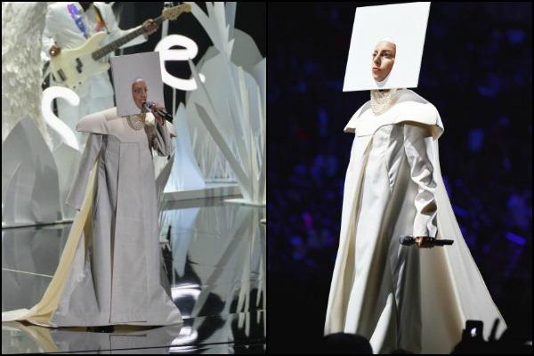 Lady Gaga Nun at VMA 2013