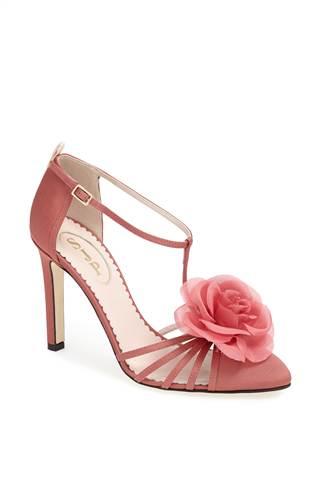 "The ""Etta"" sandal in mauve ($425)"