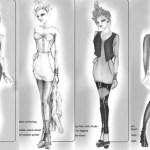 6126 apparel sketches