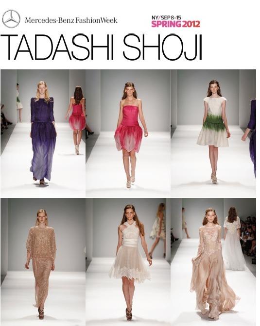Tadashi Shoji SS2012