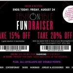 Shop Bloomingdale's Fashionable Fundraiser: August 23 – 24