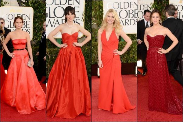 Golden Globes 2013 Red Carpet Fashion