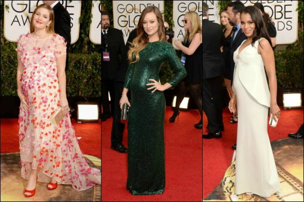 Golden Globes 2014 Red Carpet Fashion Baby