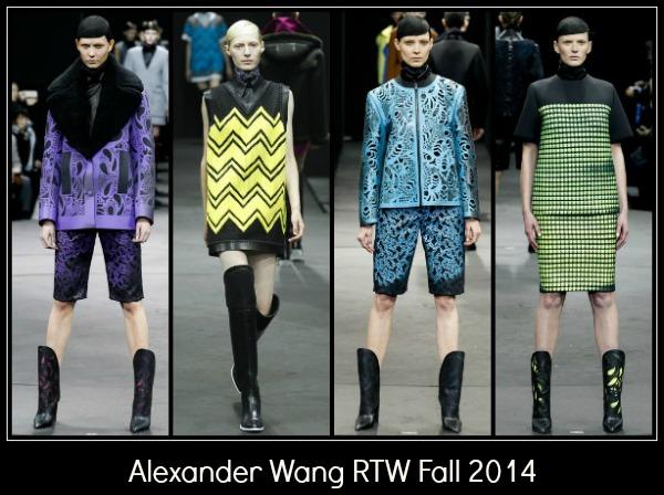 Alexander Wang RTW Fall 2014 NYFW
