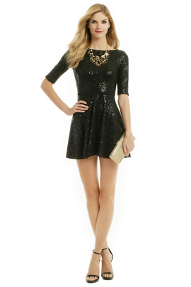 Searching for the perfect party dress? Look no further than this fit n flare by Slate & Willow!