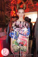 fahsion as Art Exposed Group of Seven model