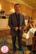 Arkady wearing: suit from Estonia