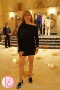 Catherine Mackinnon wearing: SEN Couture from LA