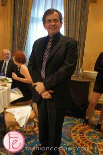 wearing: suit from Harry Rosen