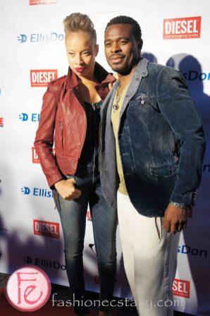 Lyriq Bent & Stacey McKenzie @ Walk the One Way Diesel Fashion Show