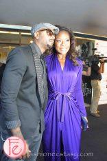 Jully Black @ M.A.C VIVA Glam Fashion Cares 25 Red Carpet