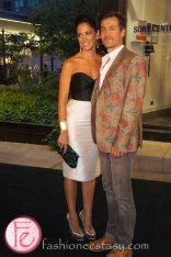 Chantal Kreviazuk and Raine Maida @ M.A.C VIVA Glam Fashion Cares 25 Red Carpet