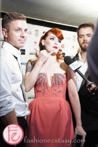 Scissor Sisters @ M.A.C VIVA Glam Fashion Cares 25 Red Carpet