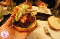 Culinary Adventure's Ride and Go Feast - Halloween Special Edition Burger by Fuel House