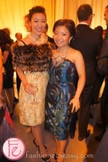 wearing: Vintage (Left),David Dixon dress withTara Fava necklace (Right)