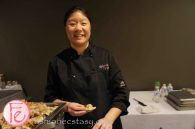Apple Ginger Turkey Potsticker by Chef Vanessa Yeung, Aphrodite Cooks @ 2012 Taste Canada - The Food Writing Awards