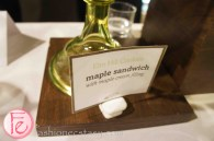 Maple sandwich with maple cream filling by Elm Hill Cookies @ 2012 Taste Canada - The Food Writing Awards