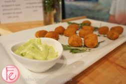 Lobster & octopus croquette with citrus & tarragon aioli by Salt @ 2012 What's On The Table