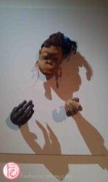 Haute Orangutan by Yu Pei Lian- Elle 21st Anniversary 'Art Meets Fashion @ Bellavita