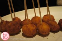 Positive Space One Year Anniversary VIP Event - risotto balls by Church Aperitivo Bar