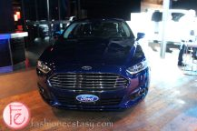 Ford's Blue Party - Unveiling of the All New 2014 Ford Fiesta - 2013 Ford Fusion Hybrid