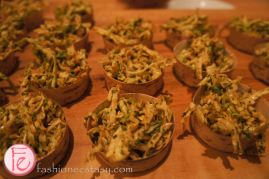 crunchy peanut coleslaw made with savoy, peanut vinaigrette and parsley by executive Chef Graham Pelley, e11even