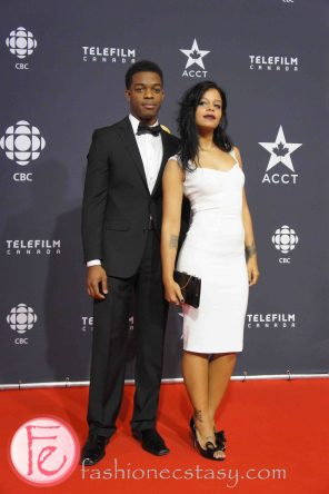 Fefe Dobson, Stephan James ( Home Again)- Canadian Screen Awards Broadcast Gala