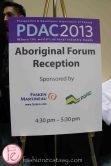 PDAC 2013 - aboriginal forum reception