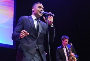 Sean Jones at Havergal Gala (photo by George Pimentel)