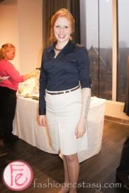German Wine queen - Julia Bertram at German Wine Fair Riesling & Co. World Tour