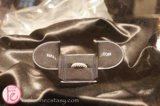 Raffle Prize: Harry Winston diamond ring