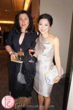 wearing: Greta Constantine (right)
