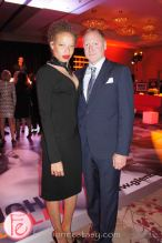 Right to Play Ball 2013- Stacey McKenzie and Glen Baxter