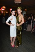 Gabrielle Miller (Corner Gas) & Stacey Mckenzie at TFI new labels gala 2013