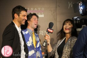 Jorn Weisbrodt, Jeanne Beker and Rufus Wainwright at Luminato and Yves Saint Laurent Opening Night Party