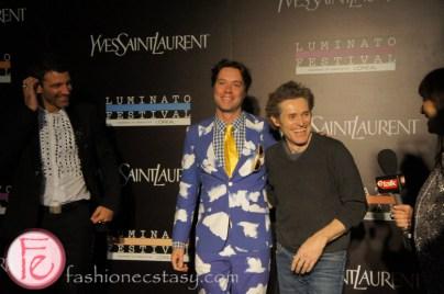 Rufus Wainwright and Willem Dafoe - Luminato and Yves Saint Laurent Opening Night Party