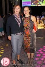 Dr. Sara Diamond (OCAD) - Luminato and Yves Saint Laurent Opening Night Party
